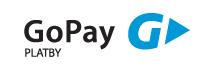 PLATEBNÍ BRANA GoPay umožňuje platbu platební kartou a online platby