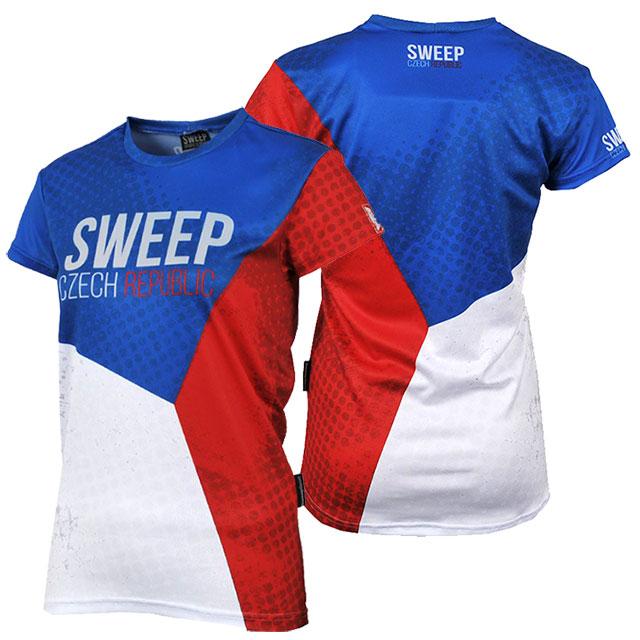 Dětské funkční tričko SKTS013 CZECH  3afef8ba3d