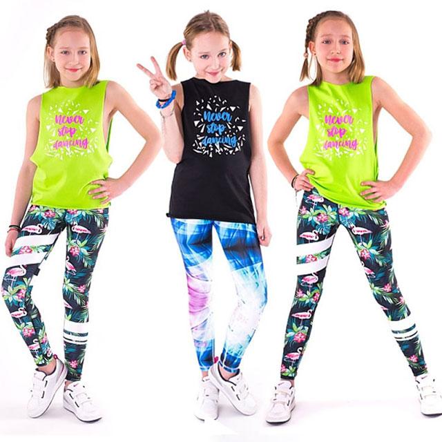 Dětský taneční top NEVER STOP DANCING  ecdcfa7628
