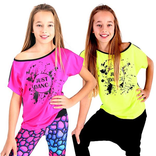 Dětské taneční tričko JUST DANCE empty 2aec037a26b