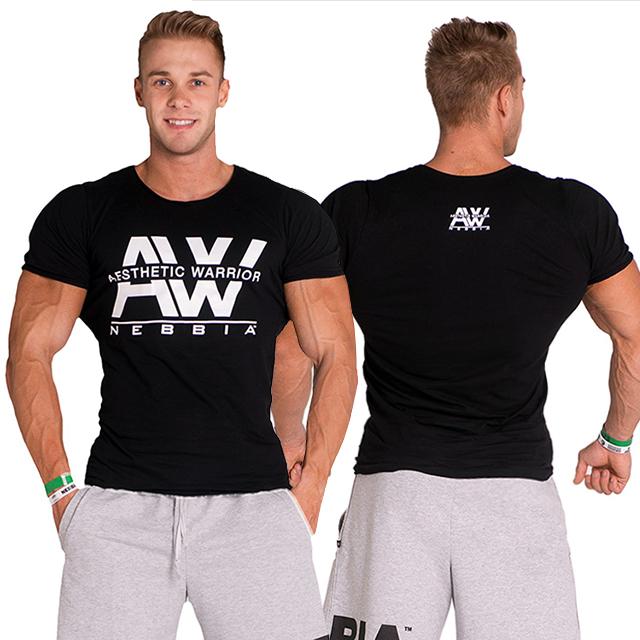 Pánské fitness tričko AW 127 empty bd4979bbc6